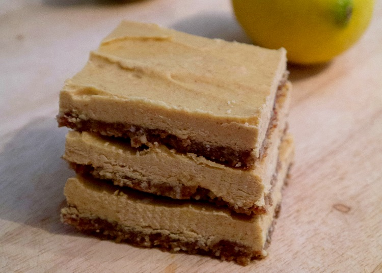 Raw Paleo Lemon Bars